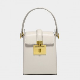 Cilela Keep it Classy White Top Handle Bag (CK-002043)