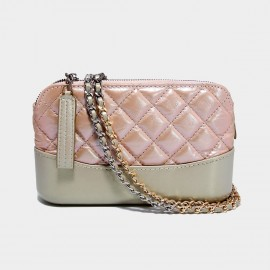 Cilela Pretty in Pink Quilted Shoulder Bag (CK-002046)