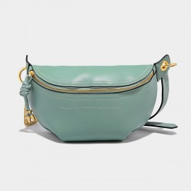 Cilela Classic Curve Teal Green Shoulder Bag (CK-002049)
