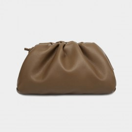Cilela Hobo Style Petite Brown Shoulder Bag (CK-003001S)