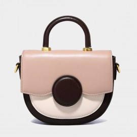 Cilela Semi Circle Legally Blonde Pink Top Handle Bag (YS90004)
