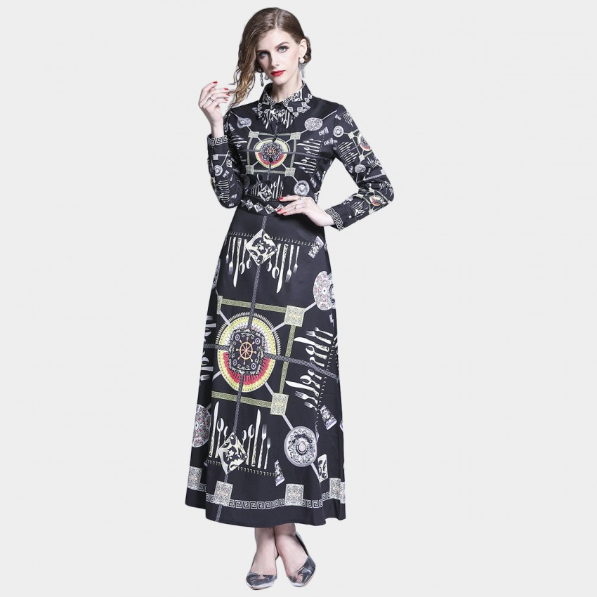 Buy DZA Dinner time Black Dress online, shop DZA with free shipping