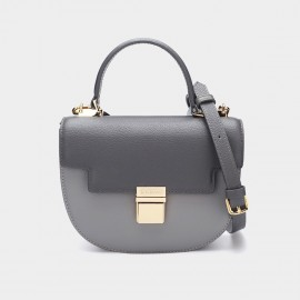Dreabassa Semi Circle Grey Top Handle Bag (Dr-17081880)