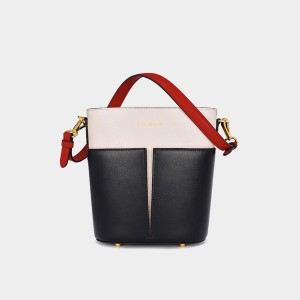 Dreabassa Colour Block Black Tote Bag (Dr-18066980)