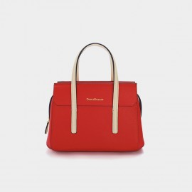 Dreabassa Red Contrast Top Handle Bag (Dr-18067980)