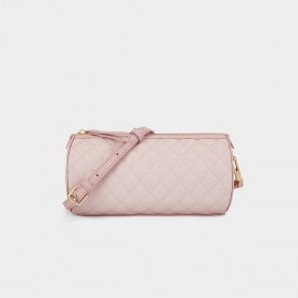 Dreabassa Criss Cross Quilted Pink Shoulder Bag (Dr-1906D135)