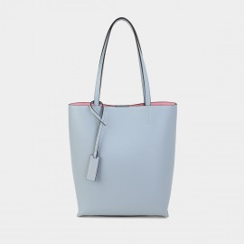 Dreabassa Minimalist Blue Bucket Tote Bag (Dr-1907D137)