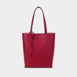 Dreabassa Minimalist Red Bucket Tote Bag (Dr-1907D137)