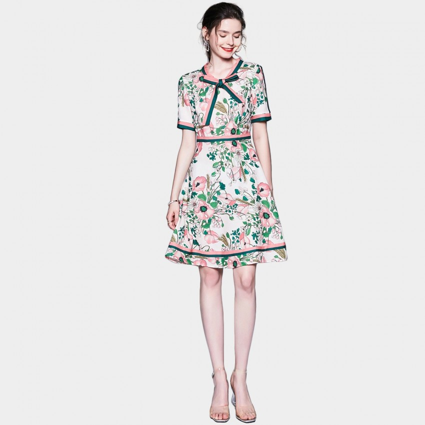 Buy ZOFS Floral Garden Party Dress online, shop ZOFS with free shipping