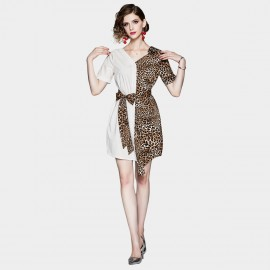 ZOFS Opposites Attract Leopard Mini Dress (89156)