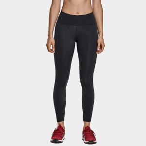 CRZ Yoga High Waisted Mesh Panel Black Leggings (R420)