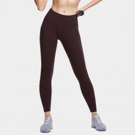CRZ Yoga Cut Out Coffee Full Length Leggings (R422)