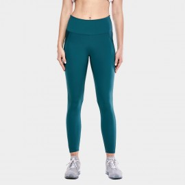 CRZ Yoga Sleek High Waisted Green Sports Leggings (R424)