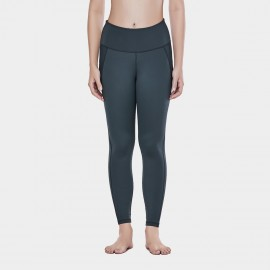 CRZ Yoga Sleek High Waisted Gun Sports Leggings (R424)