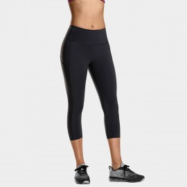 CRZ Yoga Crop Black Leggings (R432)