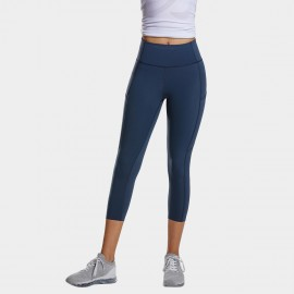 CRZ Yoga Crop Cyan Leggings (R432)