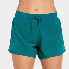 CRZ Yoga Marathon Green Running Shorts (R404)