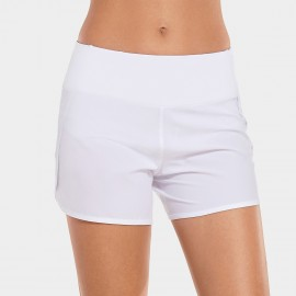 CRZ Move White Jogger Short (R403)