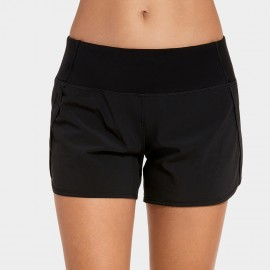 CRZ Move Black Jogger Short (R403)