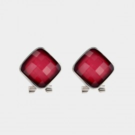 Caromay Prism Red Earring (E2361)
