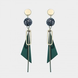 Caromay Char Green Earrings (E4890)