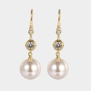 Caromay The Great Pearls White Earrings (E5762)