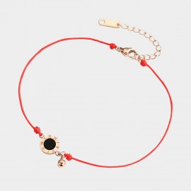 Caromay On Luck Red Anklet (H0621)