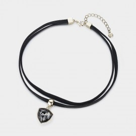 Caromay Dark Dream Black Necklace (X0852)