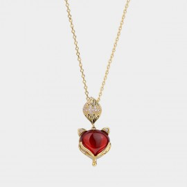Caromay Fox Red Necklace (X1833)