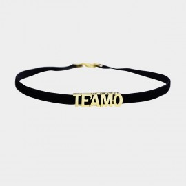 Caromay TEAMO Choker Champagne Gold Necklace (X2000)