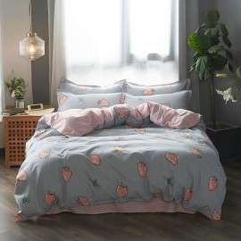 AIX Strawberry Fields Grey Duvet Set (B1907009)