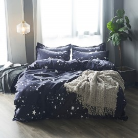 AIX Constellation Black Duvet Cover Set (B1907011)