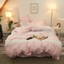 AIX Baby Stripes Pink Duvet Cover Set (B1907016)