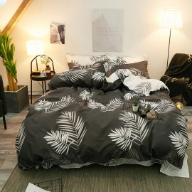 AIX Tropical Fern Print Duvet Set (B1907019)