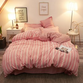 AIX Candy Stripe Pink Duvet Set (B1907020)