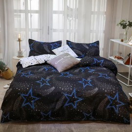 AIX Sky Full of Stars Black Duvet Cover Set (K1907006)