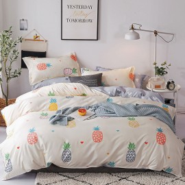 AIX Pineapple Dreams Beige Duvet Cover Set (K1907021)