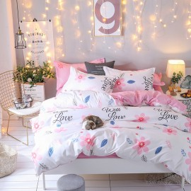 AIX With Love White Duvet Cover Set (K1907024)