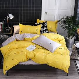 AIX Sweet Dreams Yellow Duvet Cover Set (K1907004)