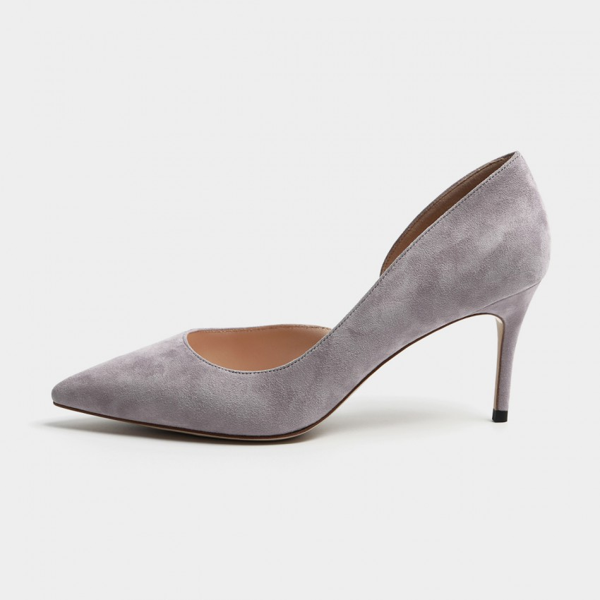 Buy Masoomake Classic Cut-Out Lilac Pumps online, shop Masoomake with free shipping