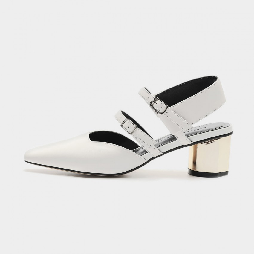 Buy Masoomake Multi-Tie White Sandals online, shop Masoomake with free shipping