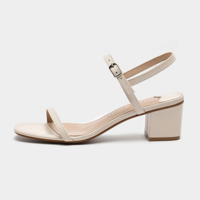 Buy Masoomake Strappy Ivory Sandals online, shop Masoomake with free shipping