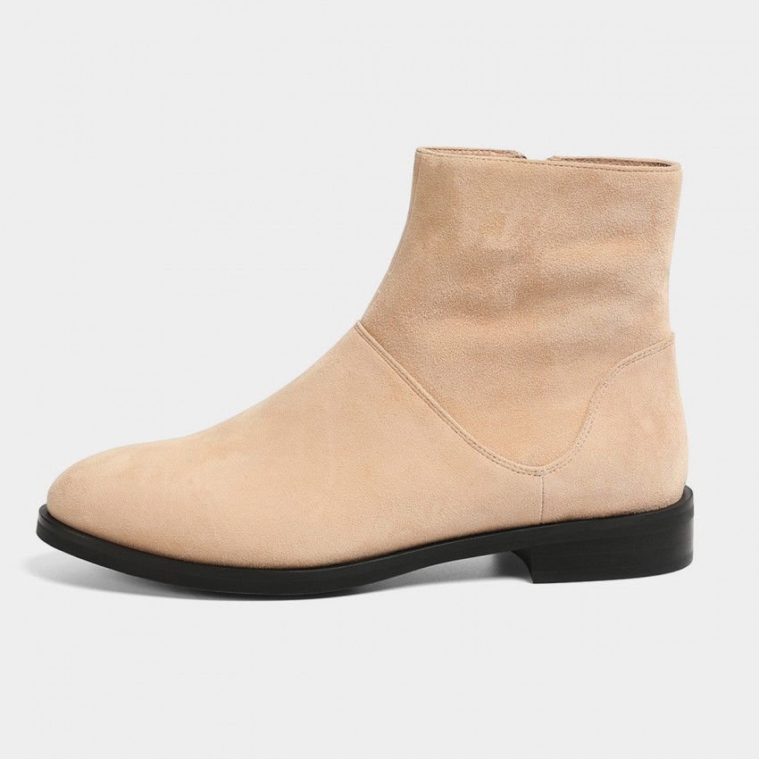Buy Masoomake Classic Apricot Boots online, shop Masoomake with free shipping
