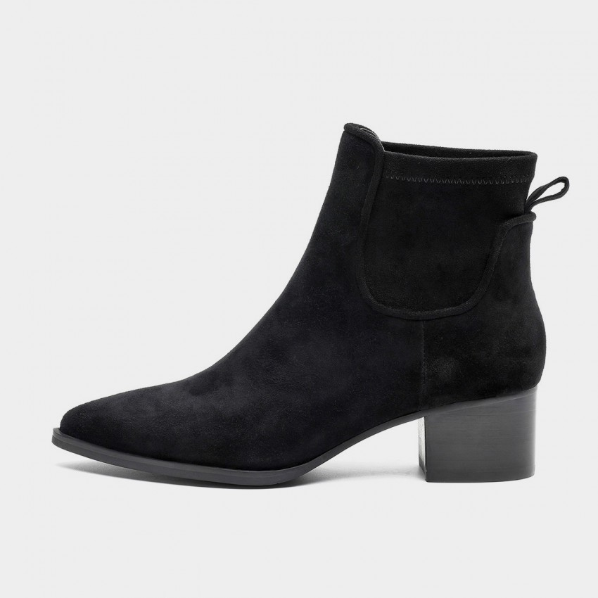 Buy Masoomake Suede Black Boots online, shop Masoomake with free shipping