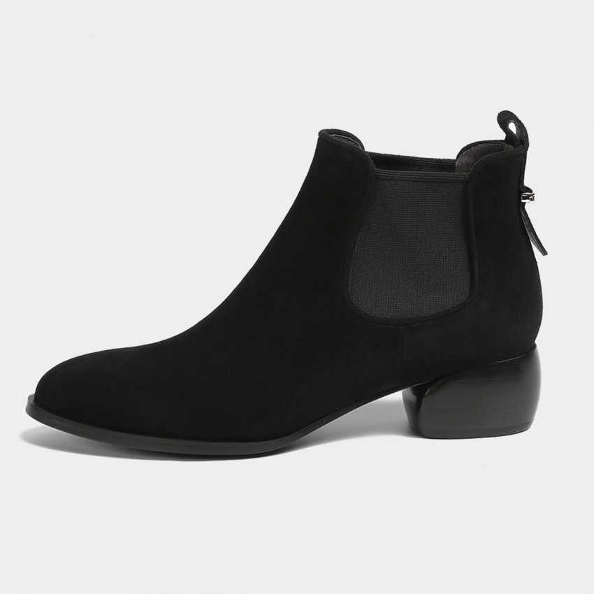Buy Masoomake Classic Ankle Black Boots online, shop Masoomake with free shipping