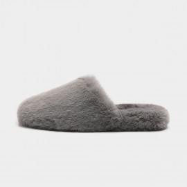 Masoomake Fury Terlene Grey Slipper (FSD71878)