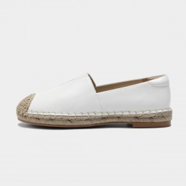 Masoomake Leather White Loafer (FSD71891)