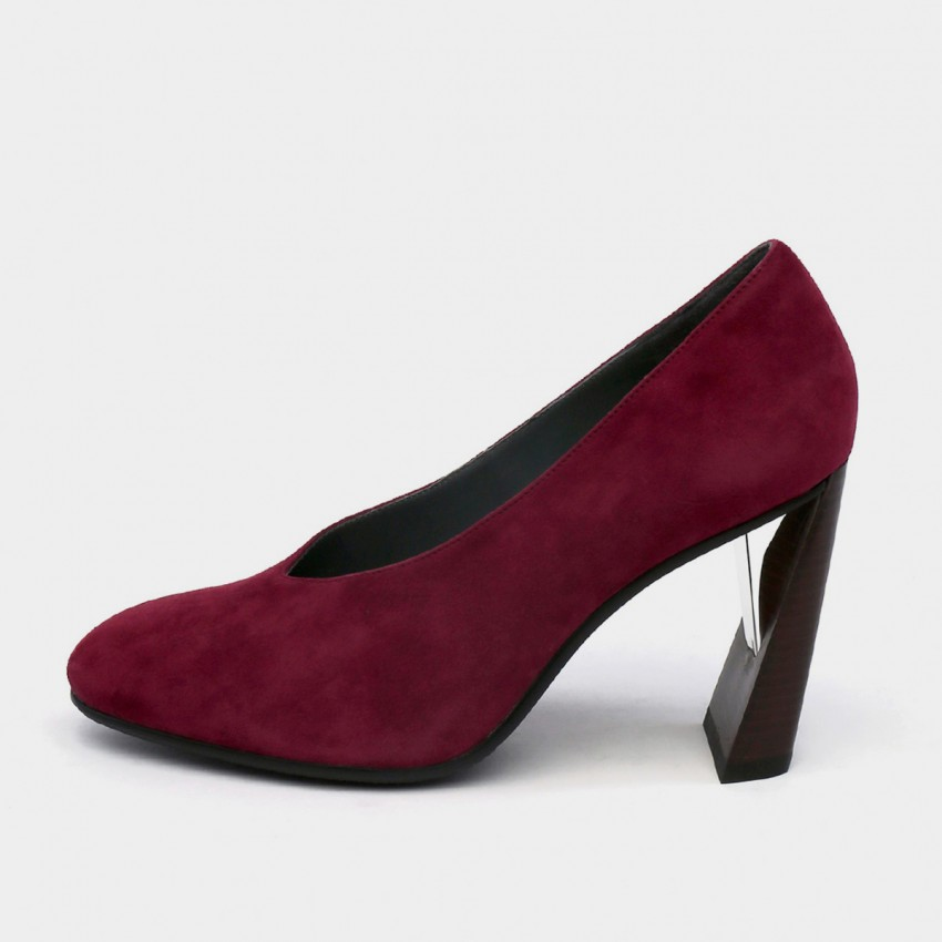 Buy Jady Rose High Leveraged Heels Wine Pumps online, shop Jady Rose with free shipping