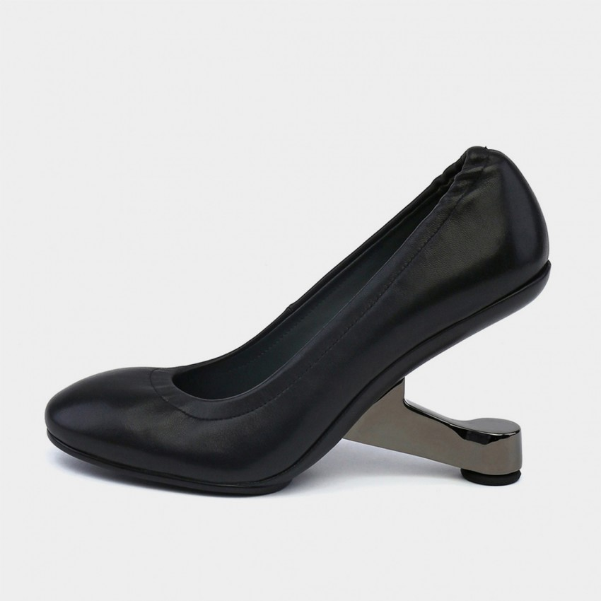 Buy Jady Rose Ballerina Slippers With Creative Heels Black Pumps online, shop Jady Rose with free shipping