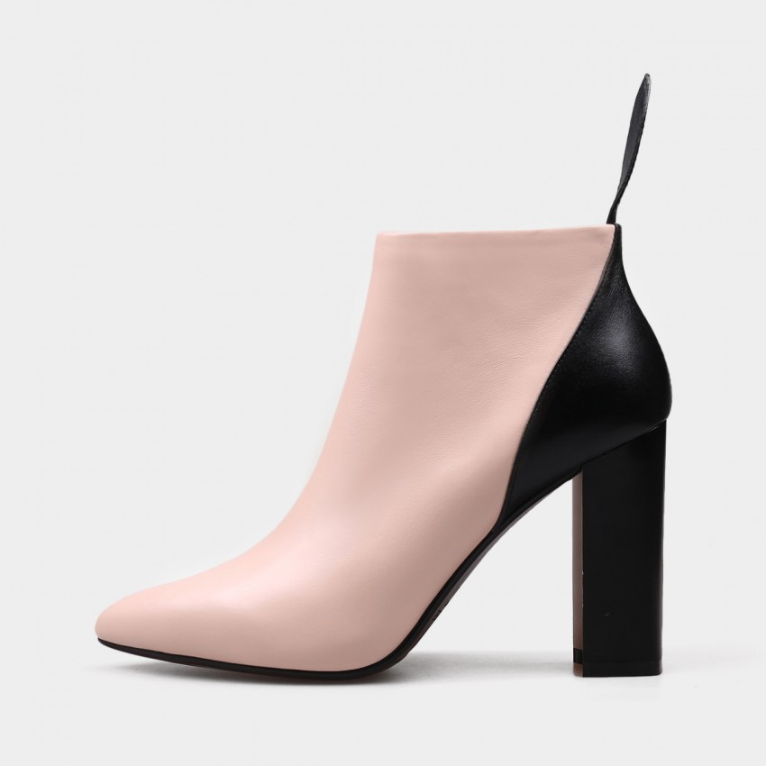 Buy Jady Rose High Shaft High Heel Pink Boots online, shop Jady Rose with free shipping